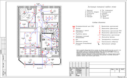 Монтажный проект квартиры